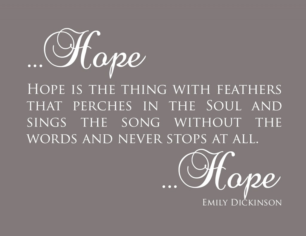 Emily Dickinson - Hope