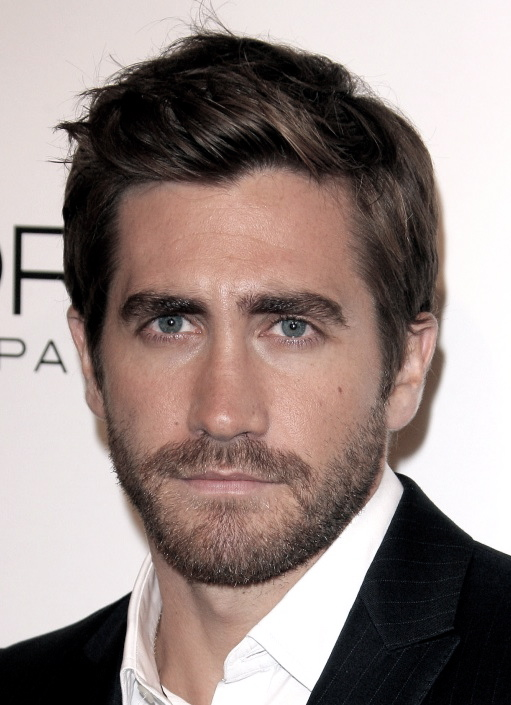 man facial hair styles h 229 rfrisyrer for menn a hairstylist 180 s point of view 1479 | jake gyllenhaal scruffy medium hairstyle facial hair