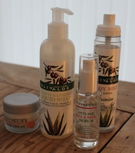 Natural cosmetics with organic Olive oil & organic Aloe Vera. A unique combination for your skin